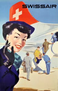 swissair-stewardess